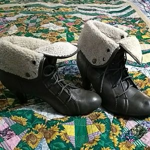 Wet Seal Ankle Boots, Size 10